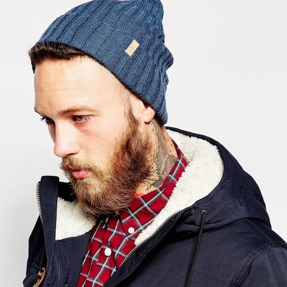 ae4d334c2a88c Fjallraven Accessories - Fjallraven Byron thin beanie in Uncle blue